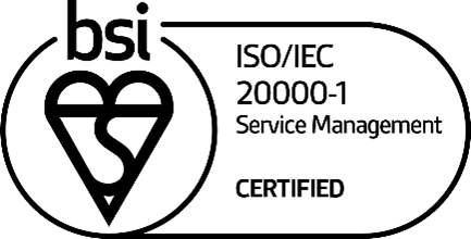 ISO 20000 Certification Badge