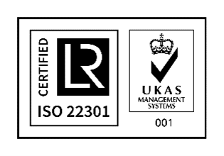 ISO 22301 Certification Badge